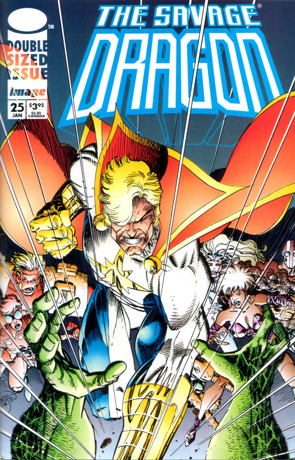 The Savage Dragon (1993) Issue #25 #28 - English 2