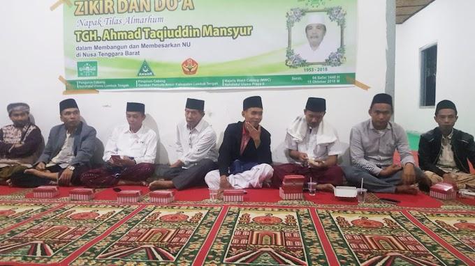 Mengenang Tuan Guru Taqi, Pejuang NU dari Lombok