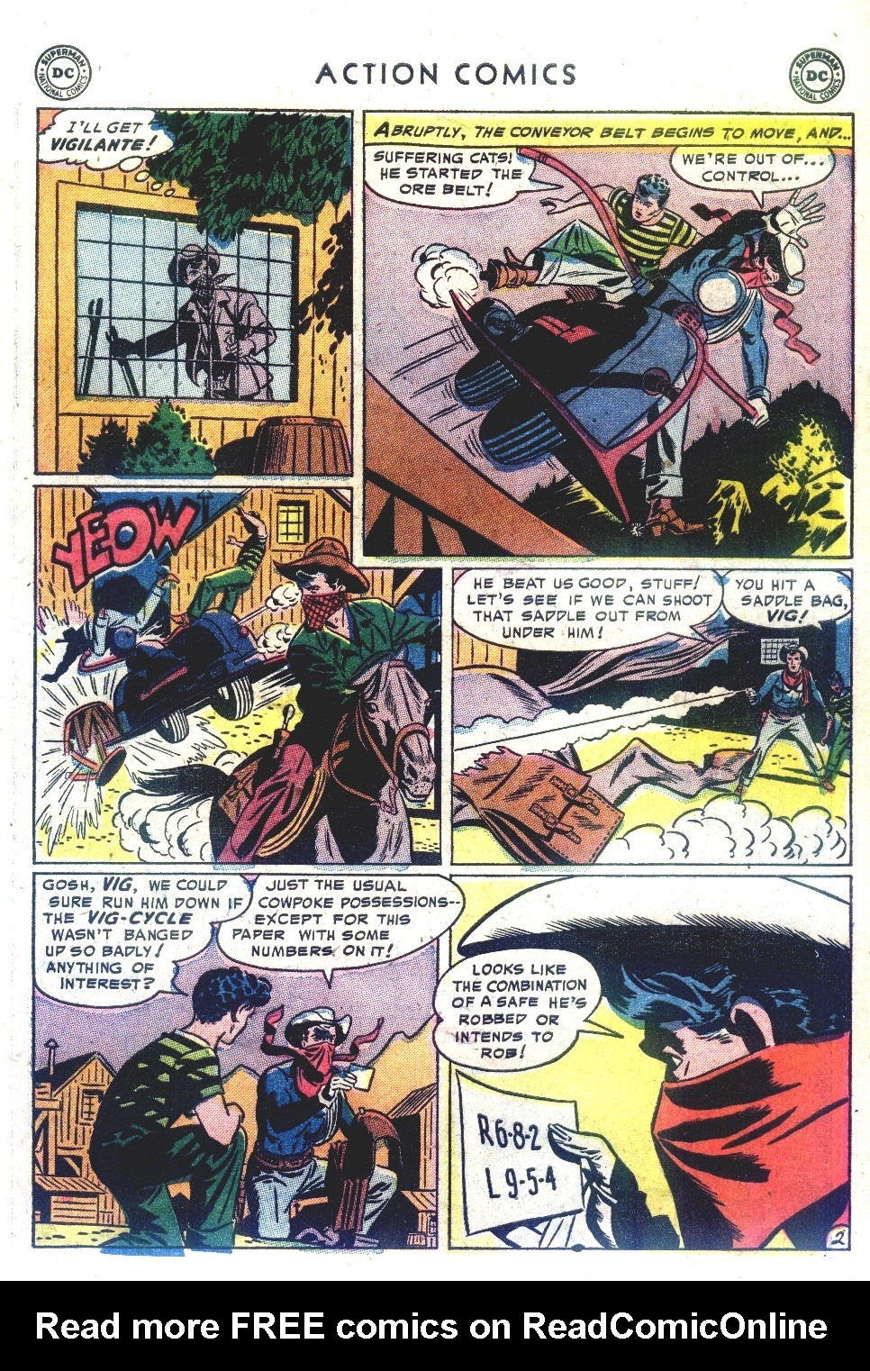 Read online Action Comics (1938) comic -  Issue #192 - 35