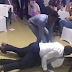 Y'all need to watch this video of two men dancing in a really weird manner