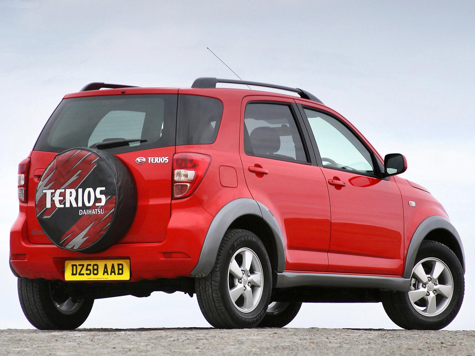 Car Design: New Terios Daihatsu
