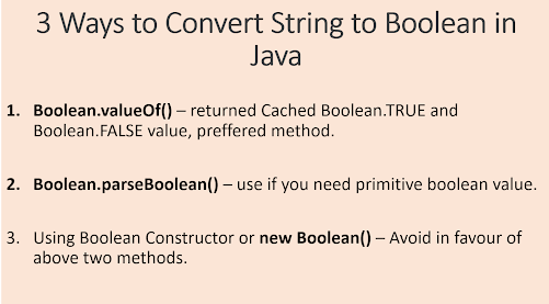3 Ways to convert String to Boolean in Java? Examples