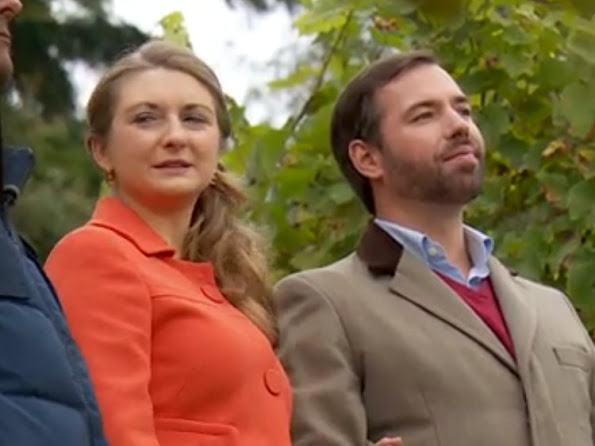 Hereditary Grand Duke Guillaume and Hereditary Grand Duchess Stephanie of Luxembourg