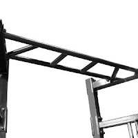 Multi-handle pull-up station on Marcy SM-3551 Olympic Strength Cage