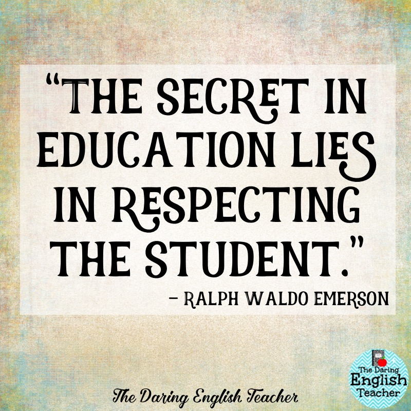 the daring english teacher inspirational teacher quotes