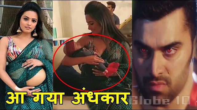 Spoiler Alert : Bela's pregnancy game against Hukum Vish hides baby truth in Naagin 3