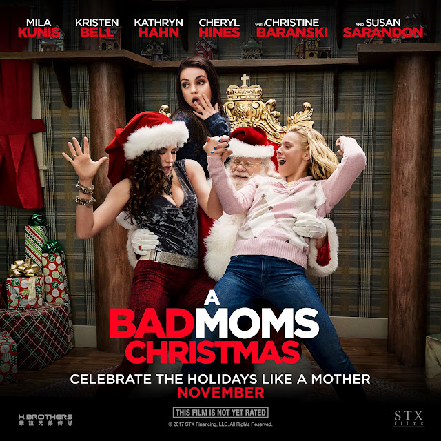 Mommy Cusses A Bad Moms Christmas sponsored by Evite post