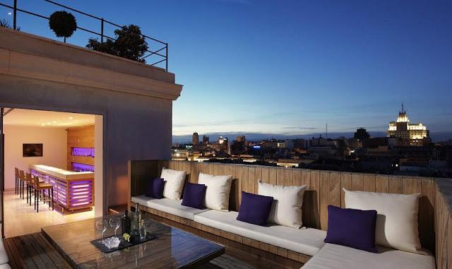 Terraços em Madri