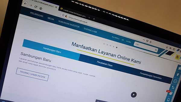 Cara Pengajuan Sambungan Baru Listrik PLN Online