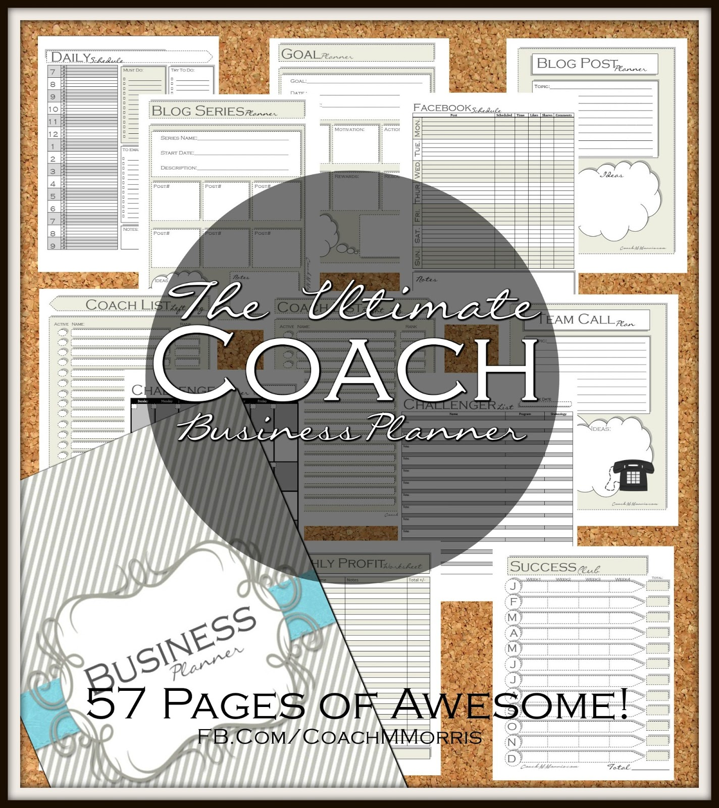 Planner Shop The Ultimate Beachbody Coach Business Planner