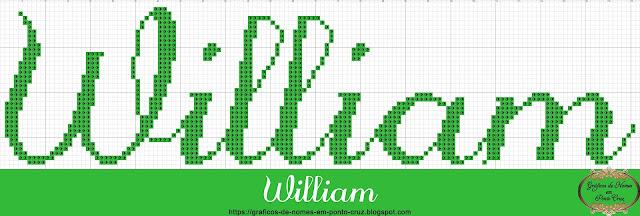 Nome William em Ponto Cruz