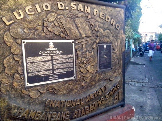 Lucio San Pedro's citation as National Artist