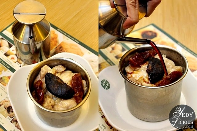 Rice with Chicken, Sausage, and Mushroom at Tim Ho Wan Manila