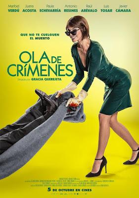 Ola De Crímenes 2018 DVD R2 PAL Spanish