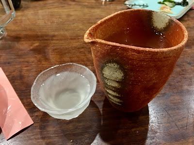 三軒茶屋にある海もぐらの日本酒1.5合