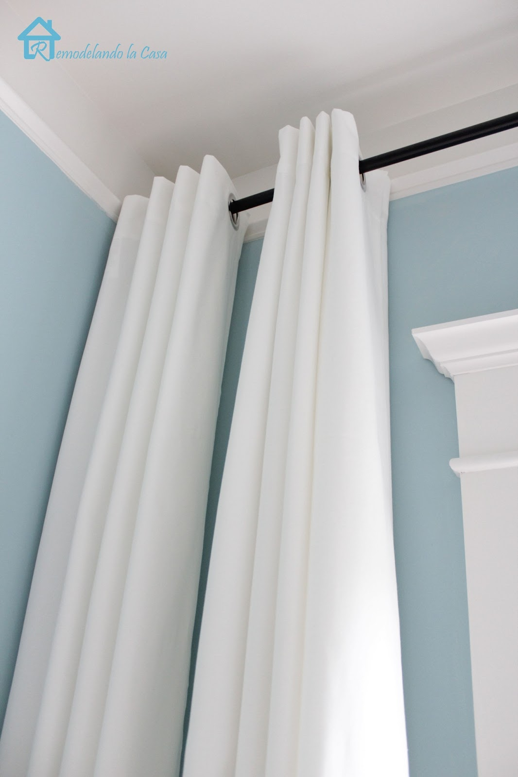 How to Make your Curtains Longer - Remodelando la Casa