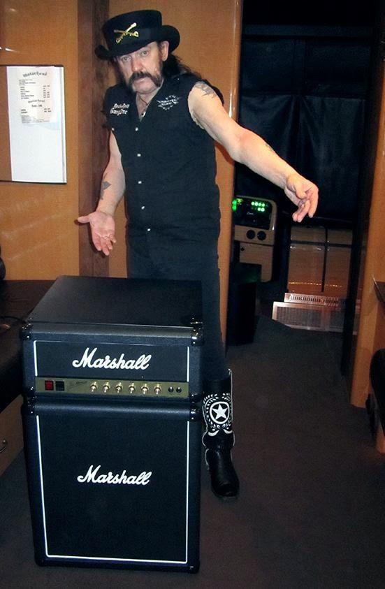 frigorifico marshall y Lemmy de motorhead