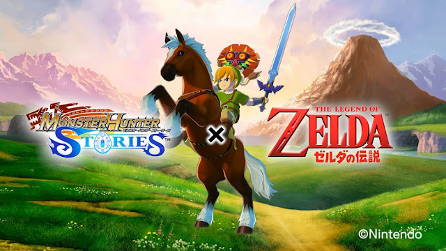 Monster Hunter Stories Will Include Characters From Legend of Zelda