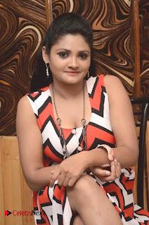 Telugu Actress Vasavi Reddy  Pictures in Short Dress  0024.jpg