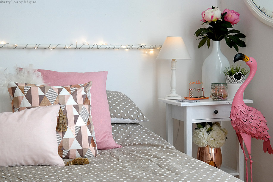 room tour, room decor, room inspirng, maison du monde, haul, autunno, oro rosa, bedroom