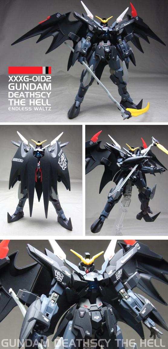 "Custom Build: HGBF 1/144 Transient Gundam Glacier ""Gundam Deathscythe Hell Custom EW"""