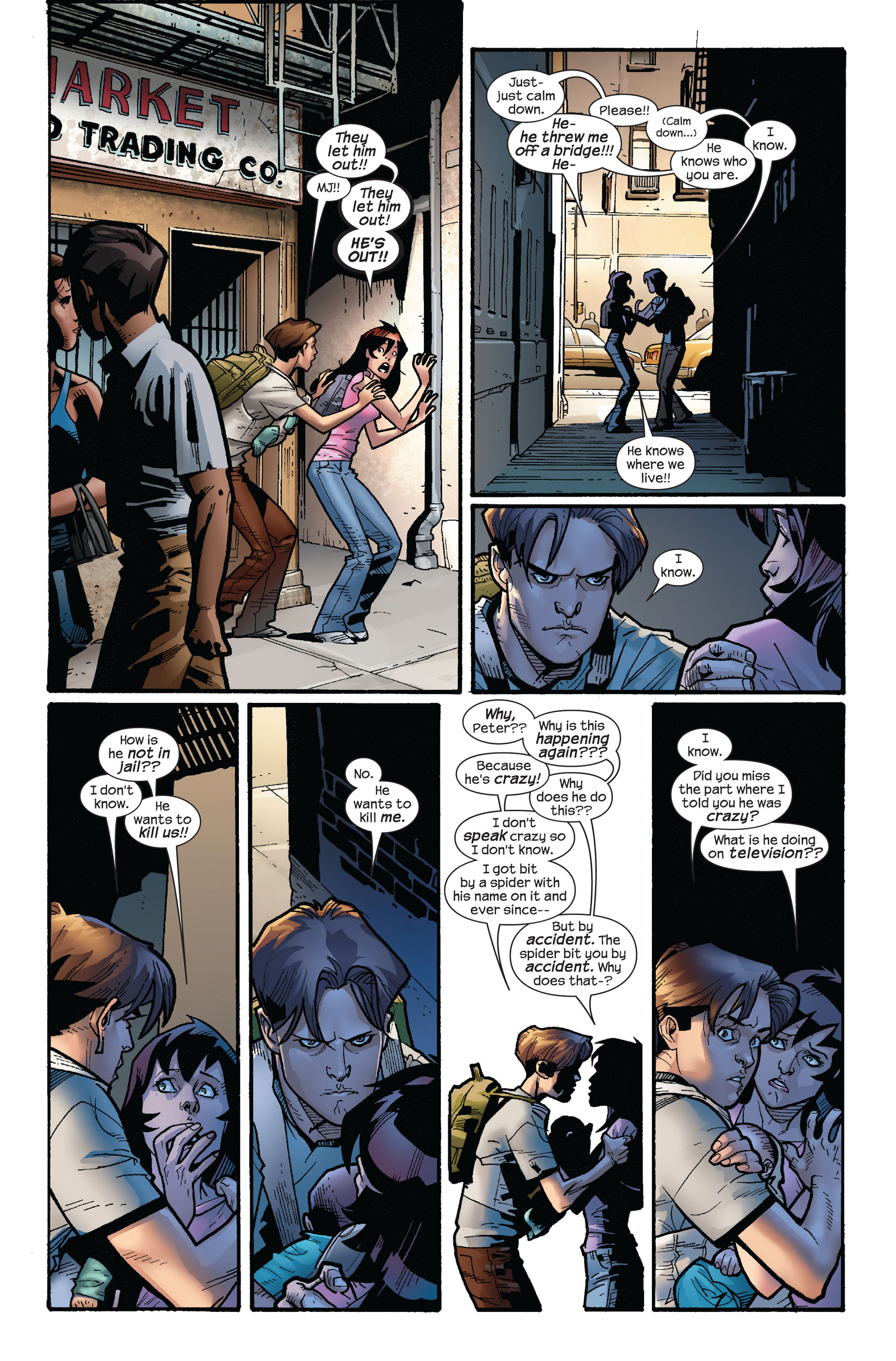Read online Ultimate Spider-Man (2000) comic -  Issue #114 - 4