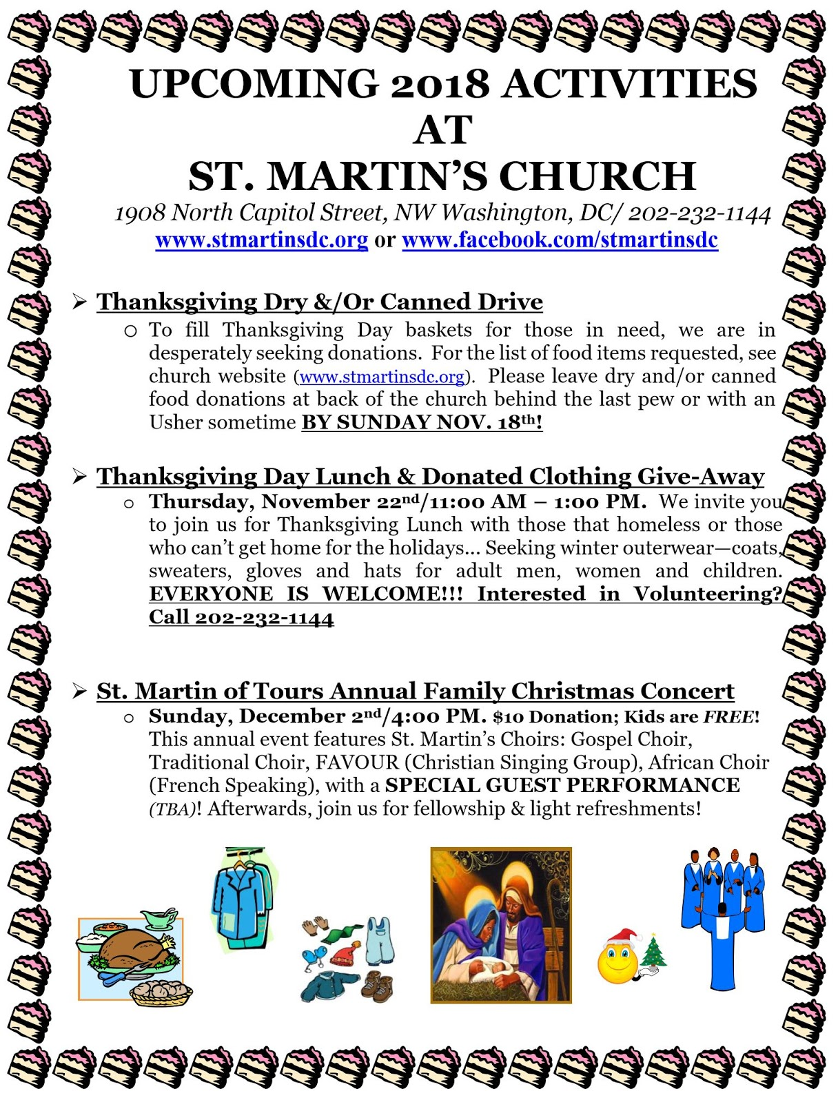 Bloomingdale Upcoming 2018 Activities At St Martins Catholic