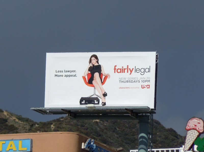 Fairly Legal billboard
