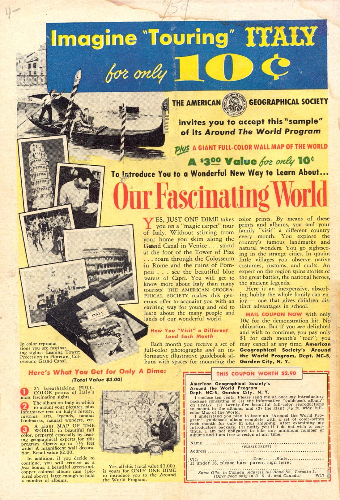 Read online Detective Comics (1937) comic -  Issue #255 - 36