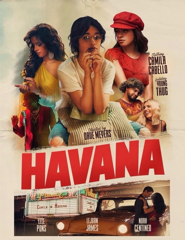 TV Música music video by Camila Cabello for her song titled Havana, featuring Young Thug.