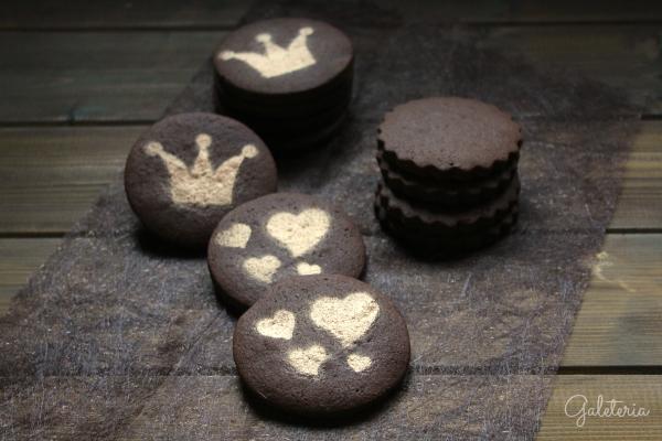 receta galletas cacao