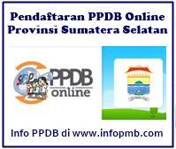 PPDB Wilayah Kabupaten dan Kota di Provinsi Sumatera Selatan PPDB Provinsi Sumatera Selatan 2019/2020