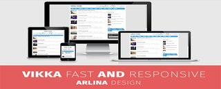 Vikka Template Fast Loading, Seo Friendly Dan Responsive