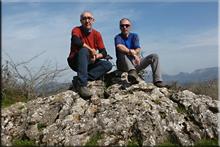 Siskino mendiaren gailurra 854 m. -- 2017ko martxoaren 11an
