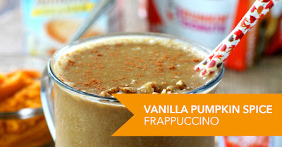Vanilla Pumpkin Spics Frap