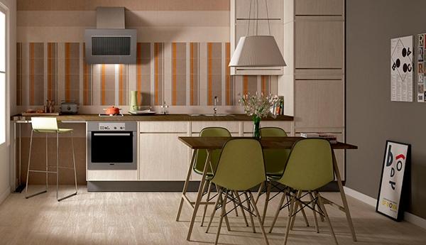 Dapur berpola modern