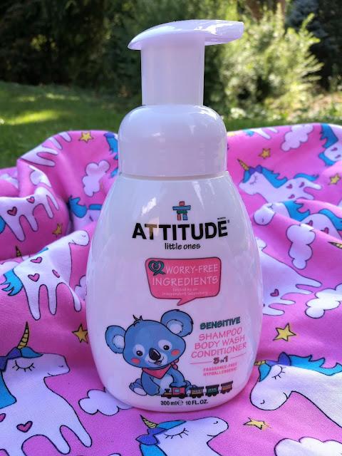 ATTITUDE 3V1 mydlo, šampon kondicioner recenze mujfialovysvetcz blog