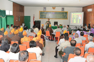 Kodam XII/Tpr Gelar Komunikasi Sosial dengan Keluarga Besar TNI
