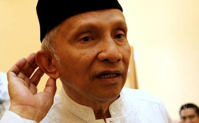 Amien Rais Akan Dilaporkan Cyber Indonesia soal Partai Setan
