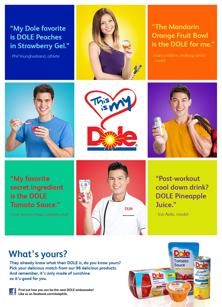 """This is my Dole,"" What's Yours?"