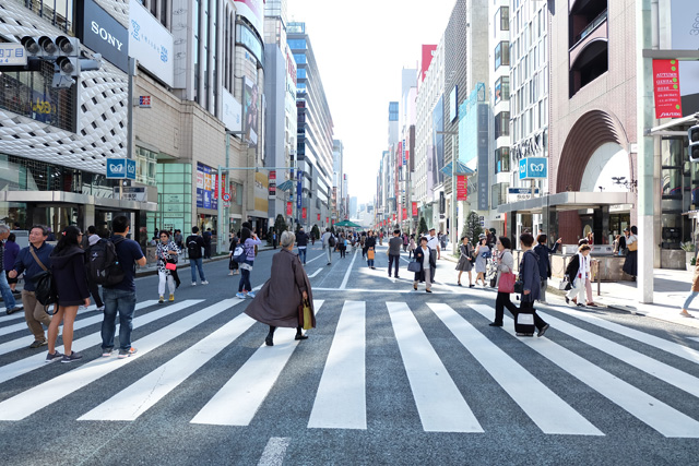 street,ginza,tokyo