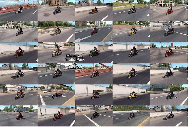 ats motorcycle traffic pack v2.8 screenshots 2