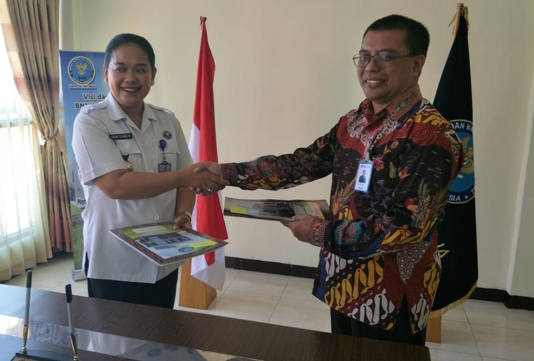 Menyambut Era Ekonomi Digital, BNNK Tana Toraja menandatangani MOU dengan BRI
