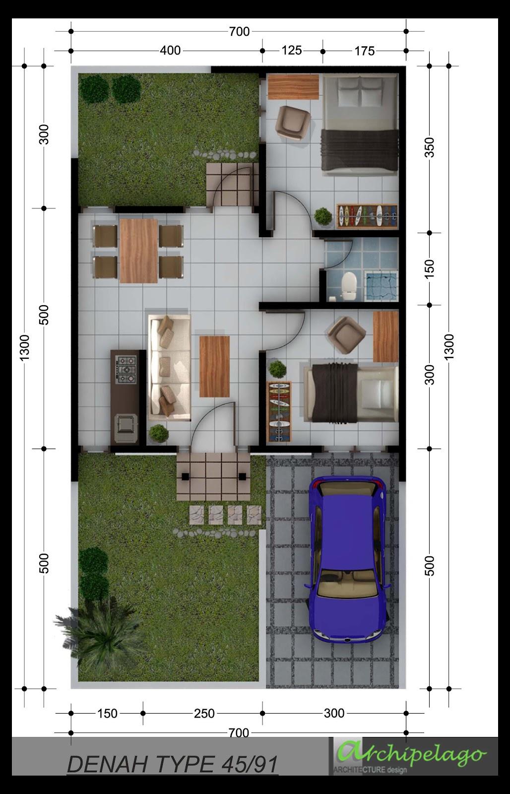 ARCHIPELAGO ARCHITECTURE design DENAH 3D