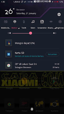 StatusBar 6 Toggle Mtz for Xiaomi