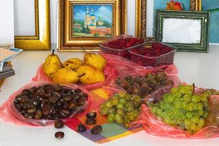 Сербский натюрморт из фруктов