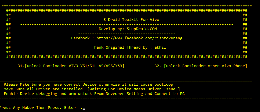 Download Vivo Bootloader Unlocker 1 0 by StupDroid com