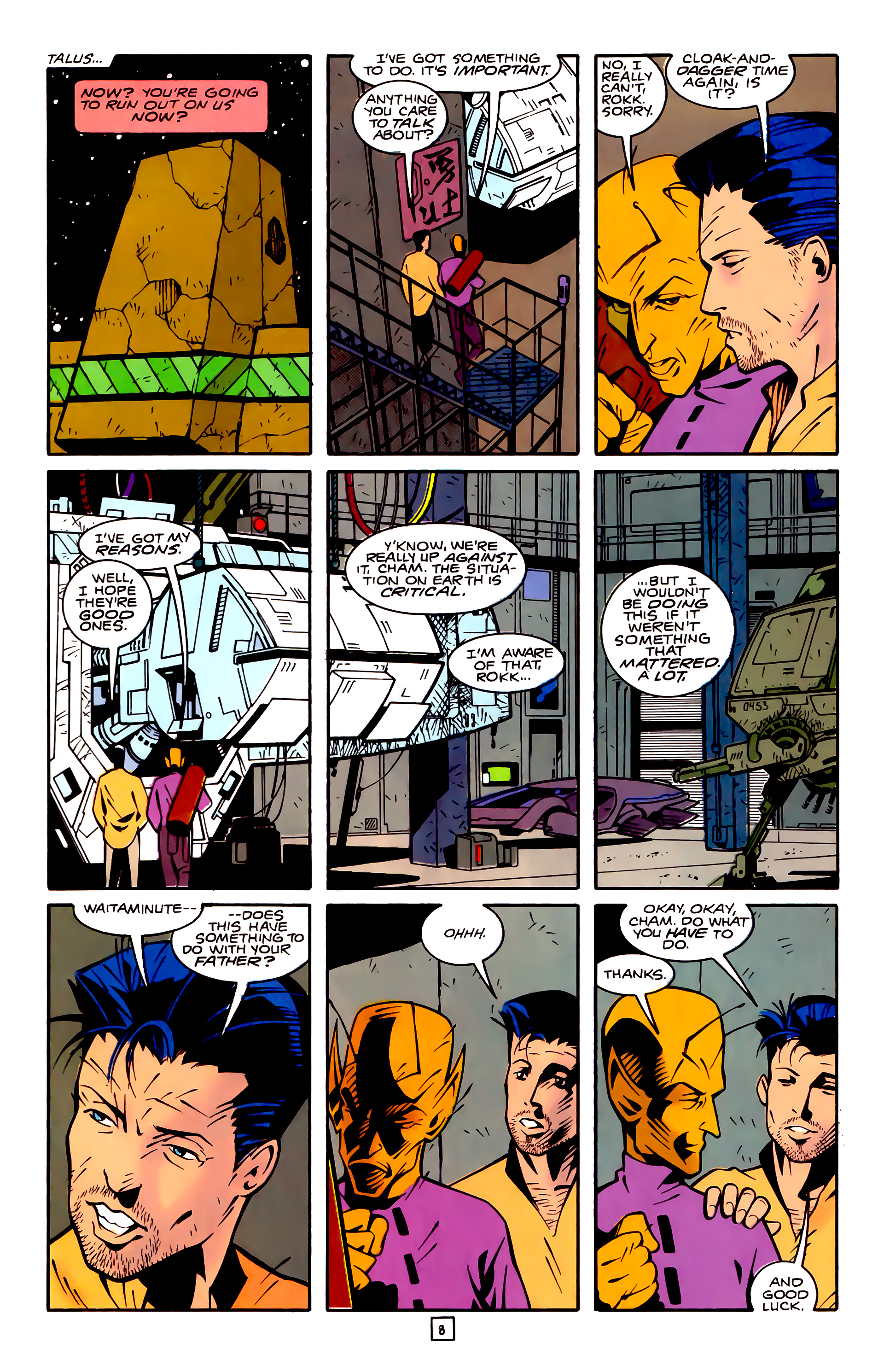 Legion of Super-Heroes (1989) 32 Page 8