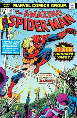 Amazing Spider-Man 153, the Deadliest Hundred Yards