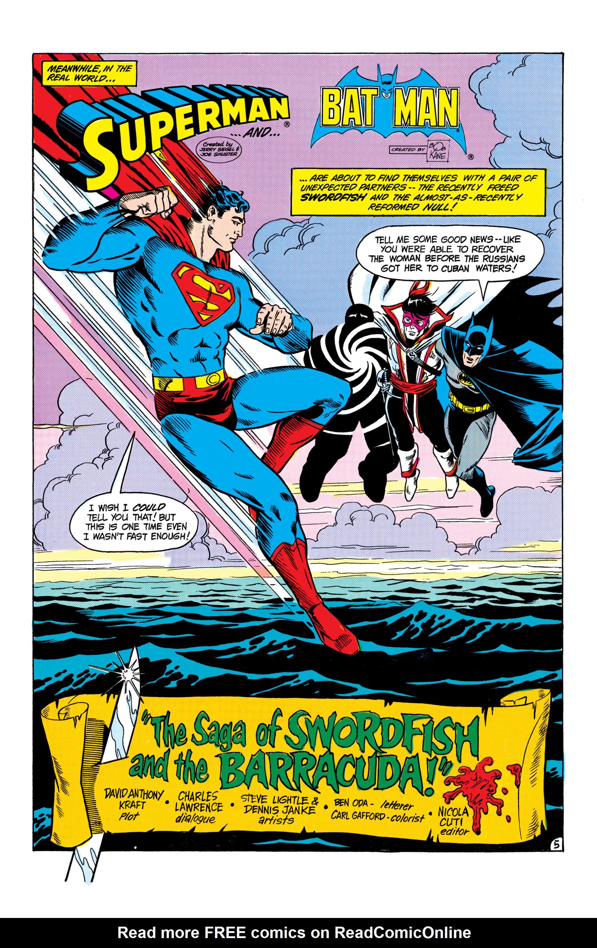 Read online World's Finest Comics comic -  Issue #306 - 6